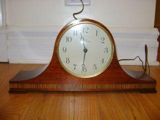 Mid Century Electric Seth Thomas Tambour Clock,  Lynton 2 - E,  Circa 1950 - 60 photo