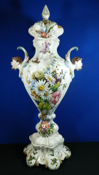 Decorative Arts Ceramics Amp Porcelain Urns Antiques Browser
