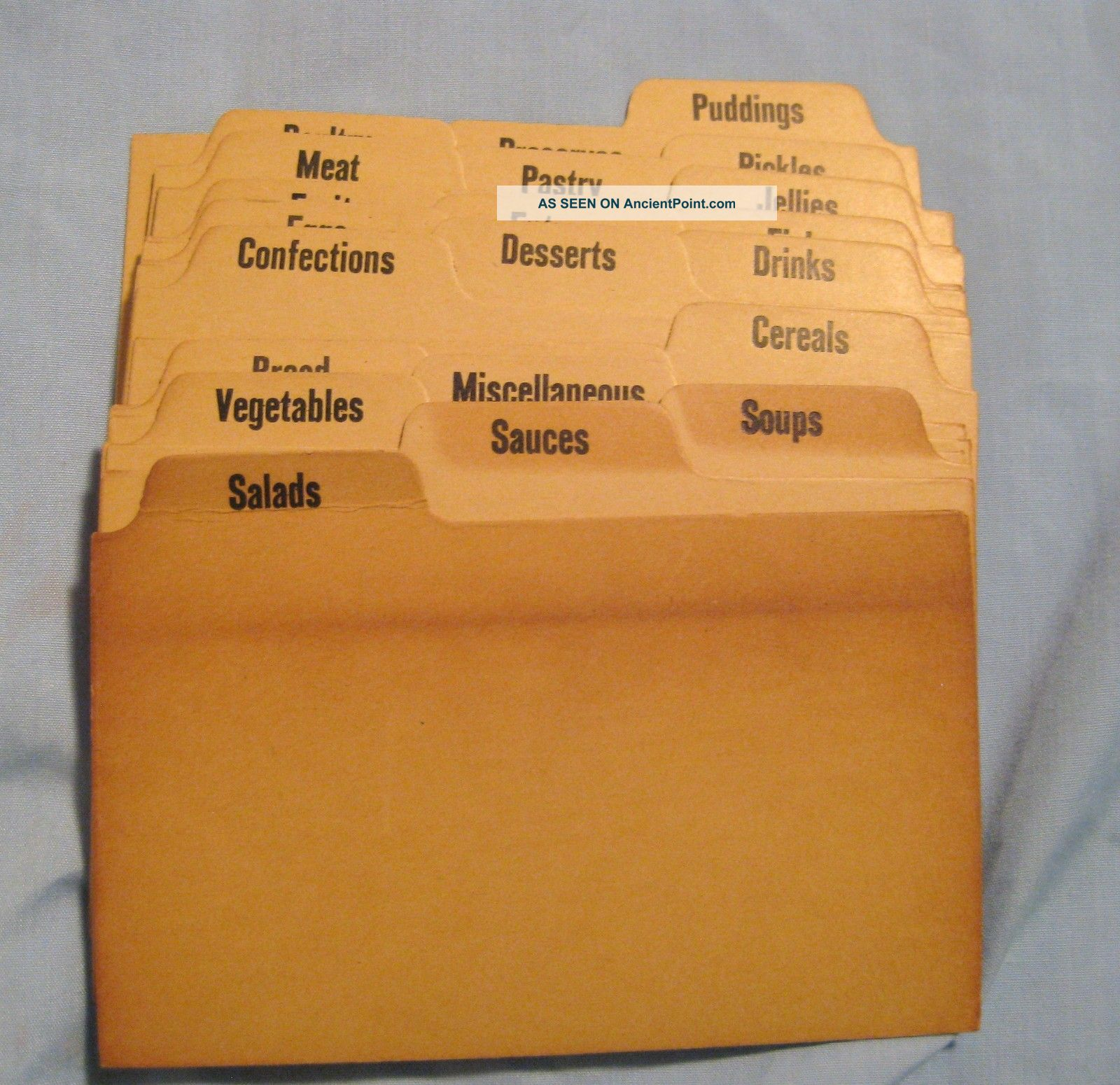 Recipe Cards And Box Index Cards Boxes Photo