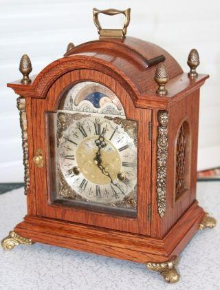 Mantel Clock,  Type Bracket Model,  With Moon Calendar photo
