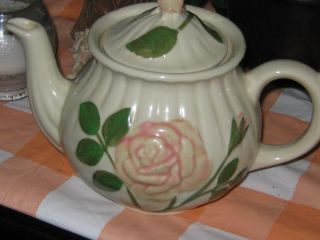 Vintage Rose Teapot photo