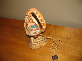 Antique Lamp Handcrafted By Italian Artisan In Napoli.  Truly A Piece Of Art photo