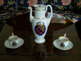 Stunning Meissen Diplomatic Coffee Service photo