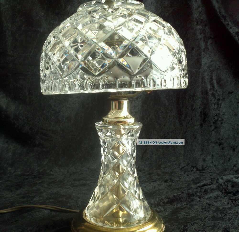 Vintage crystal table lamp - Filename Vintage_art_deco_1940__s_lead_crystal_boudoir_vanity_desk_lamp_1_lgw Jpg