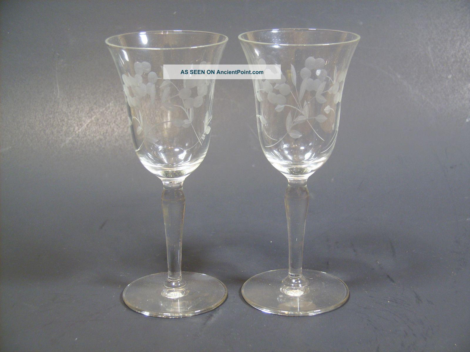 Vintage Crystal Glasses - Ordinary Nude Teen Pics