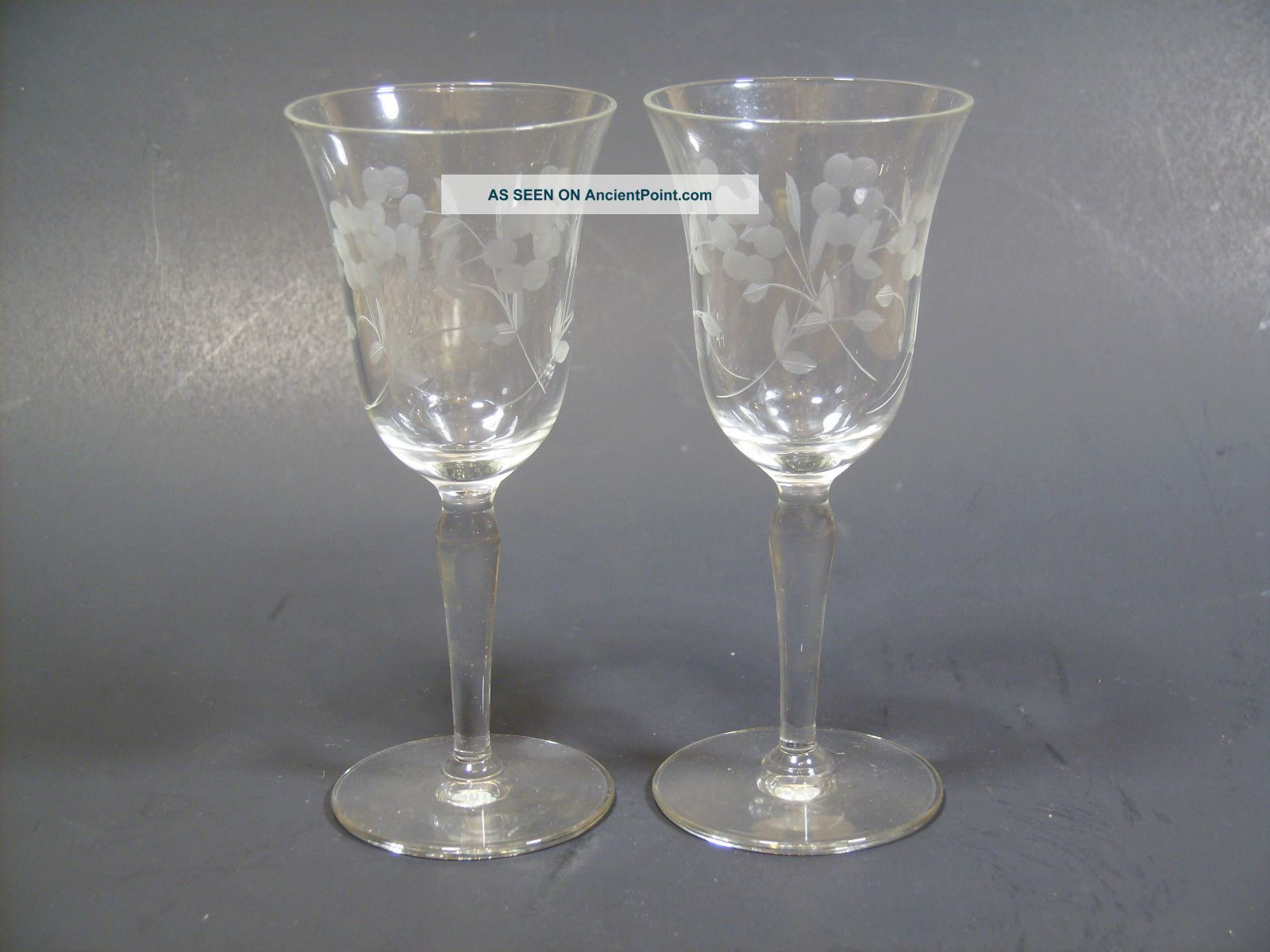 Vintage Crystal Glass - Xxx Albums