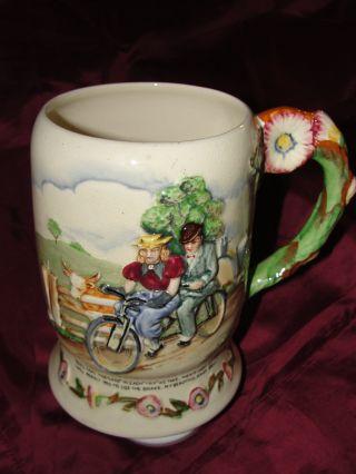 Crown Devon Daisy Bell Musical Mug photo