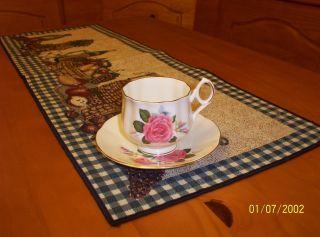Royal Dover Teacup And Saucer,  English Bone China photo