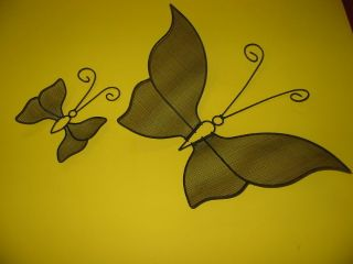 1950 ' S Butterflys (2) Metalware / 16