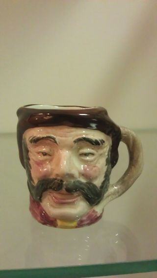 Widecombe Pottery - Peter Davey Character Jug - Mini photo