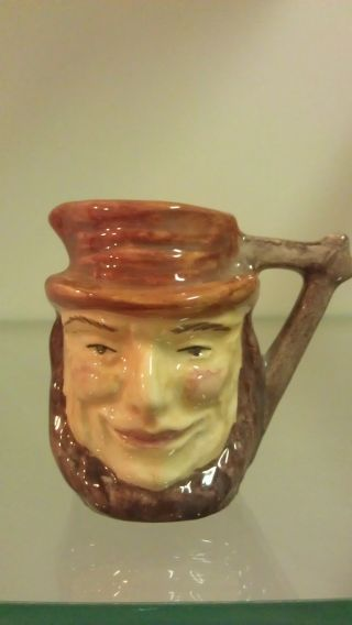 Widecombe Pottery - Uncle Tom Character Jug - Mini photo