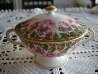 Haviland Limoges Bouillon Cup / Sugar Bowl With Lid photo