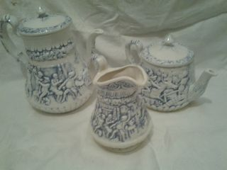 1969 3pc Tea Pot Collection photo