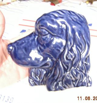 Mccoy,  Dog,  Retreiver,  Spainel,  Setter,  Blue,  Wall Planter,  Pocket Vase photo
