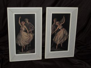 1940 ' S Cherie Ballet Pictures With Wood Frames - Dark Romantic Mysterious photo