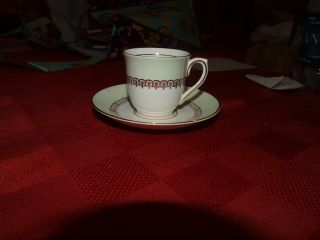 Antique Colclough Bone China Tea Cup And Saucer Made In England photo