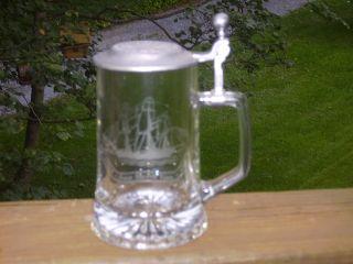 German Glass Tankard (old Spice)