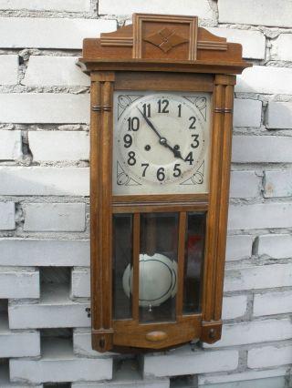 German Clock Pfeilkreuz 19th photo