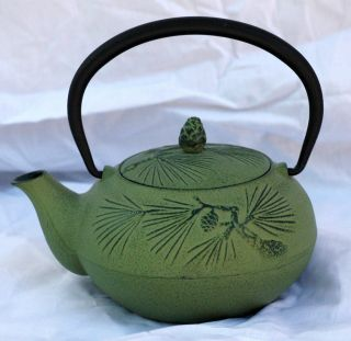 Japanese Pine Cone Teapot With Infuser photo