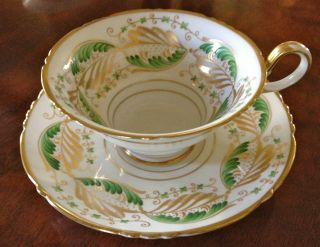 Set 6 Vintage China Tea Cups Saucers For Tiffany & Co New York Spode Copeland ' S photo