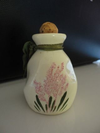Vintage Scotch Heather Perfume Bottle. .  Delavelle Of London photo