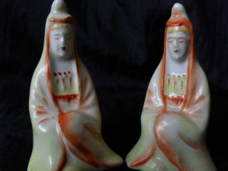Vintage / Antique Salt And Pepper Shakers photo
