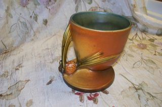 Handsome Vintage Roseville Planter - - 1930 ' S Era Great Designs & Color photo