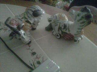 Zebra Salt And Pepper Shakers photo