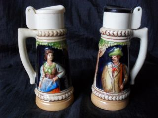 Vintage Salt And Pepper Shakers photo