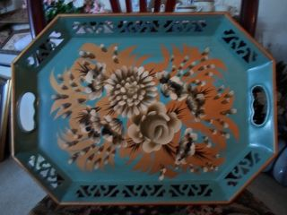 Antique Tole Tray photo