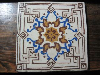 Vintage Azulejo - Portuguese Decorative Tile - Devesas Fabric photo