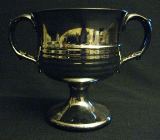 Antique Silver Lustre Open Sugar Bowl photo