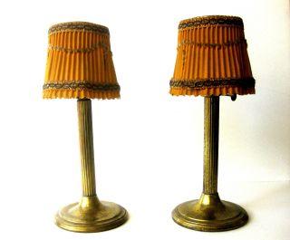 Pair Of Antique Kerosene Lamps photo