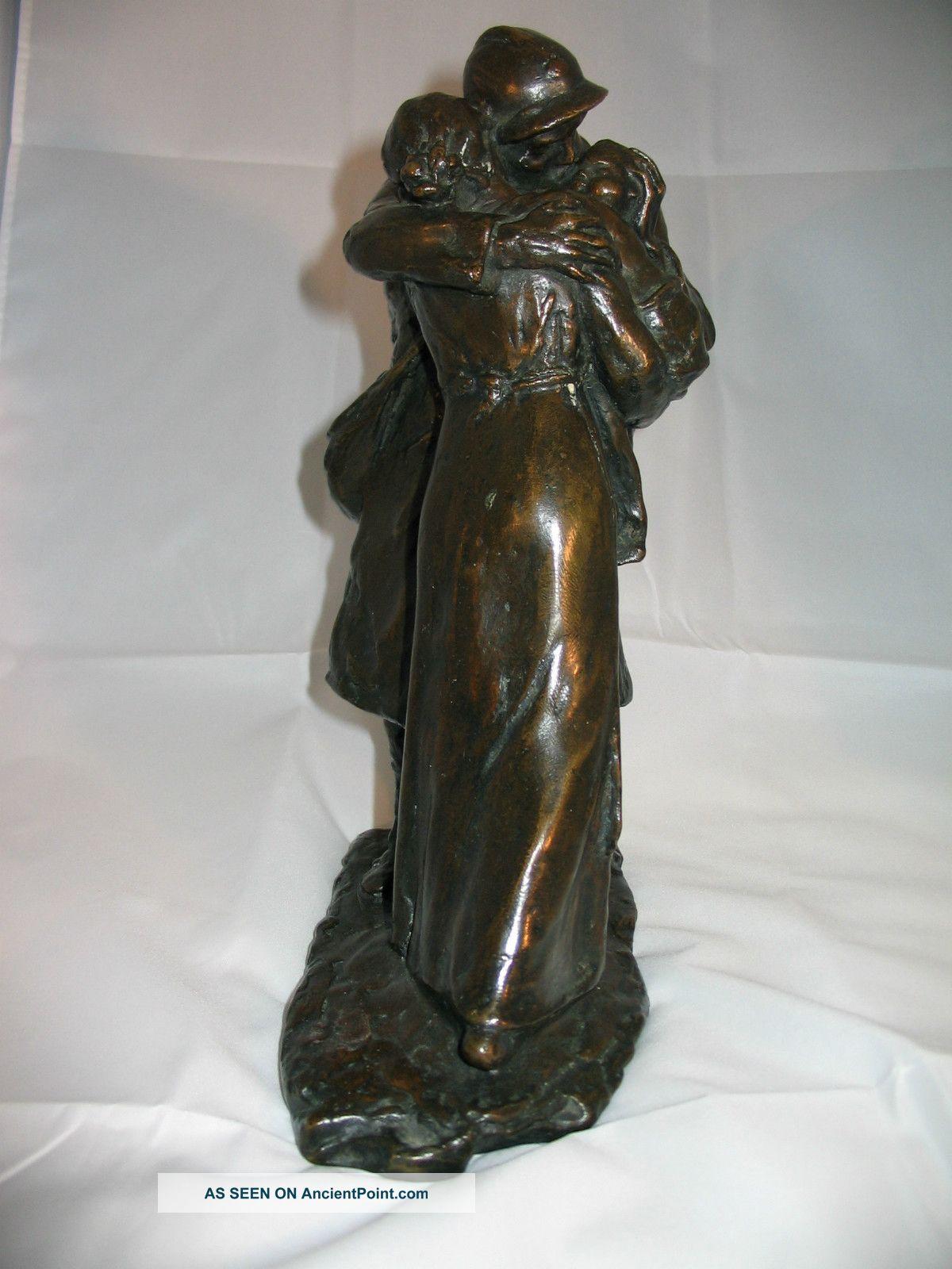 Vintage Bronze Sculpture 101