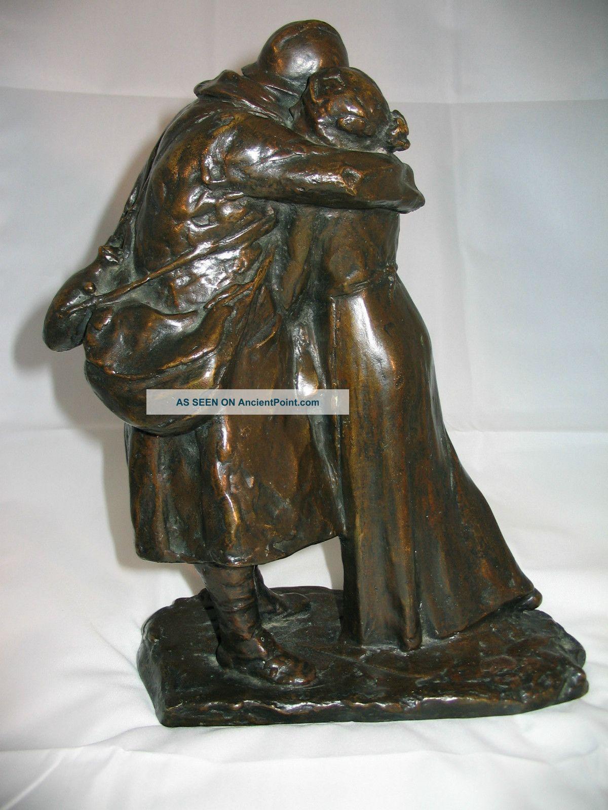 Vintage Bronze Sculpture 73