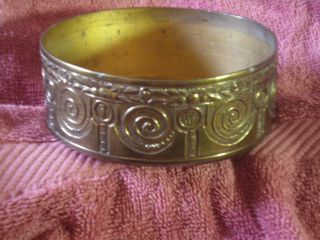 Very Old Cast Bronze Jewelry Or Trinket Bowl - 4 1/2
