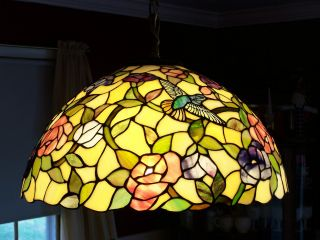 Stained Glass Chandelier photo
