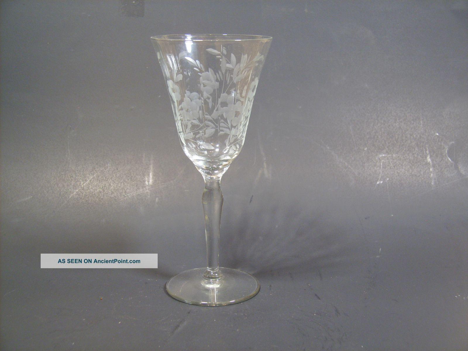 Vintage Crystal Wine 113