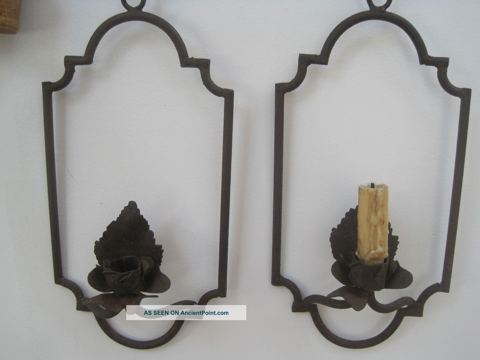 Wall Sconces For Candles Wrought Iron : Hoydens & Firebrands: Light and Shadow in the 17th Century
