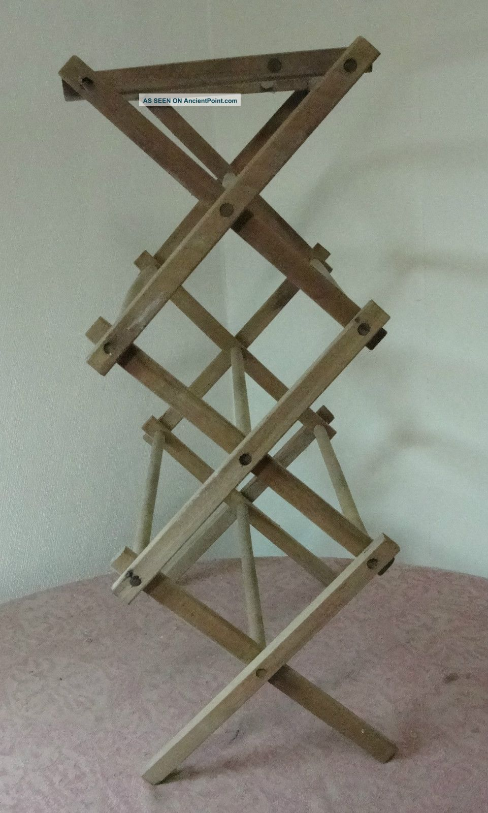 Vintage Drying Rack Wooden   Wooden Ideas