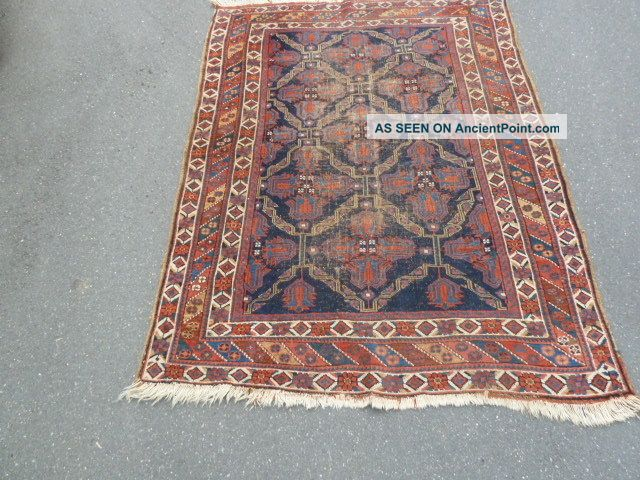 Antico - Swiss - 2 Antique Afshar Rug 3`9 X 5`3 Ft Other photo