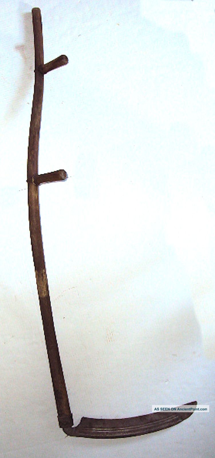 Primitive Antique Scythe (hay Cutter) Farm Tool/history/wall/fireplace Decor Primitives photo