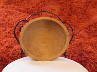 Vintage Oval Wooden Munising Bowl photo