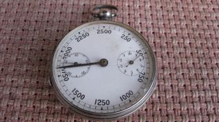 Silver Victorian Pedometer C1880 photo