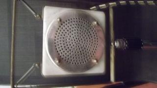 Mikrofon Ca.  1930 Kohle Marmor Messing Germany + Telefunken Psu Bad Working photo