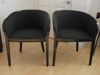 Vintage Pair Of Ward Bennett For Brickel Associates Side Chairs photo