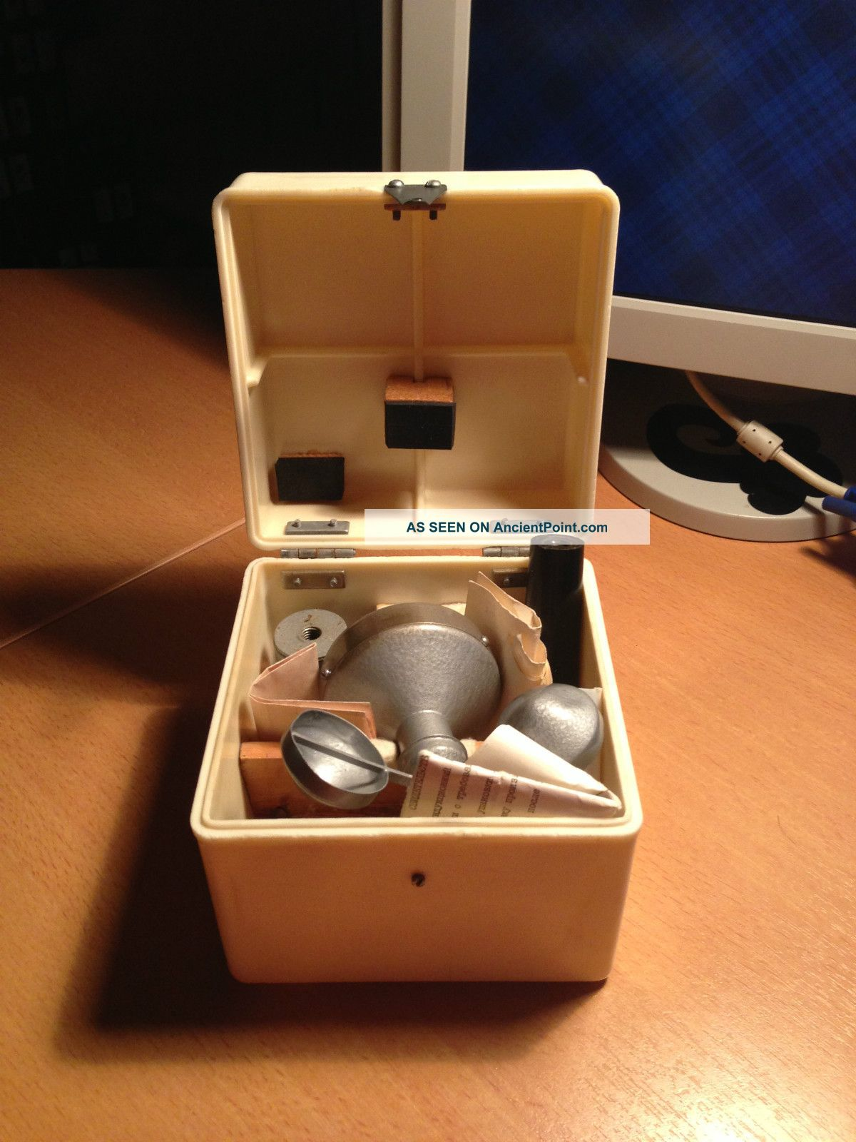 Vintage Soviet Hand Anemometer Grey Other photo