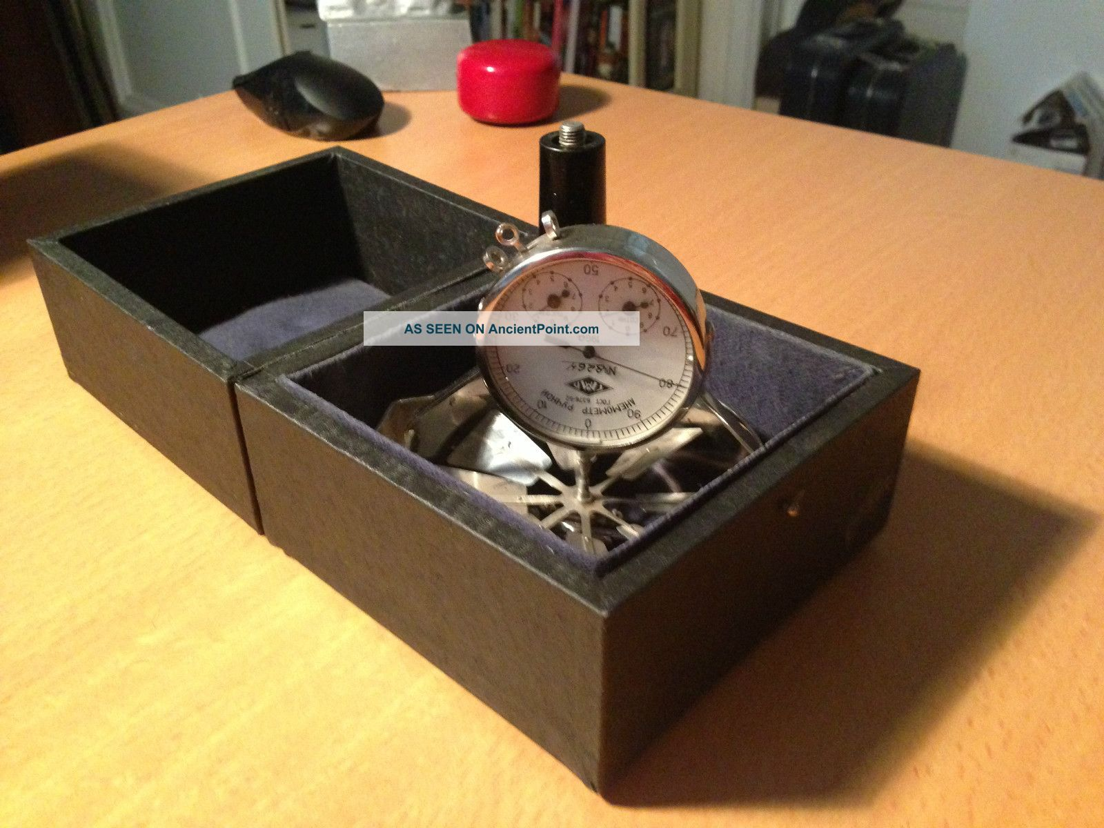 Vintage Soviet Hand Anemometer Other photo