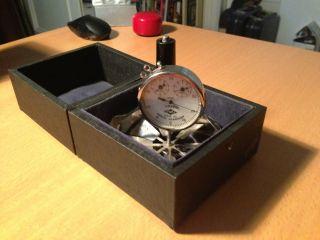 Vintage Soviet Hand Anemometer photo