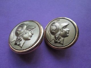 Antique/vintage Buttons Minerva/france photo